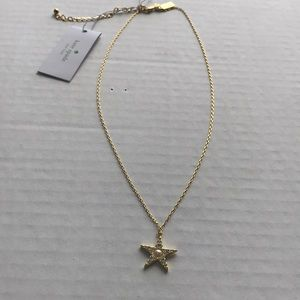 Kate Spade Star Pearl Necklace